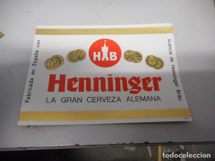 Coleccionismo de cervezas: coleccion etiqueta cerveza nuevas no usadas no visionadas nunca - Foto 6 - 105205599