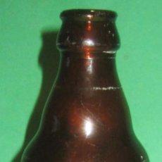 Coleccionismo de cervezas: EL AGUILA BOTELLIN ANTIGUO QUINTO Nº 1. Lote 105339035