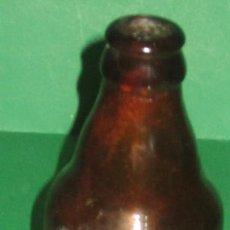 Coleccionismo de cervezas: EL AGUILA BOTELLIN ANTIGUO QUINTO Nº 2. Lote 105339147