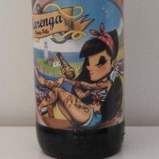 Coleccionismo de cervezas: BOTELLA VACIA DE CERVEZA ARTESANAL NACIONAL MARENGA HOPPY PILLS.. Lote 105987679