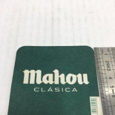 Coleccionismo de cervezas: POSA VASOS - CERVEZA MAHOU CLASICA. Lote 106257931