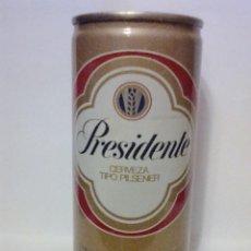 Coleccionismo de cervezas: LATA CERVEZA PRESIDENTE REPUBLICA DOMINICANA. Lote 106585019