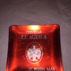 Coleccionismo de cervezas: CENICERO CERVEZAS EL ÁGUILA. Lote 140325522