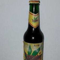 Coleccionismo de cervezas: BOTELLIN DE CERVEZA CANNABIA DE CAÑAMO 0.33L SIN ABRIR. Lote 107358227