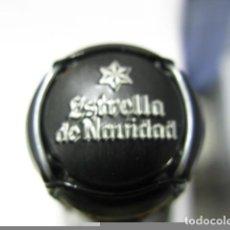 Coleccionismo de cervezas: CHAPA DE CEVEZA ESTRELLA GALICIA ' ESTRELLA DE NAVIDAD' 2017 NOVEDAD.. Lote 187379442