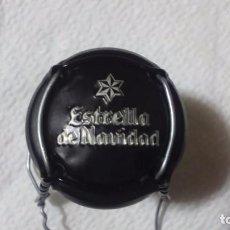 Coleccionismo de cervezas: CHAPA DE CERVEZA ESTRELLA GALICIA .ESTRELLA DE NAVIDAD. 2017.. Lote 107377891