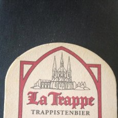 Coleccionismo de cervezas: POSAVASOS CERVEZA LA TRAPPE. Lote 107903619