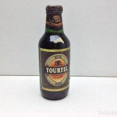Coleccionismo de cervezas: BOTELLA DE CERVEZA LLENA TOURTEL CERVEZA NEGRA 25 CL.. Lote 108420195
