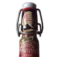Coleccionismo de cervezas: BOTELLA CERVEZA SAN MIGUEL EDICIÓN ESPECIAL NAVIDAD 1996. Lote 108963955