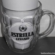 Coleccionismo de cervezas: JARRA DE LA MARCA DE CERVEZA ESTRELLA LEVANTE . Lote 109311335
