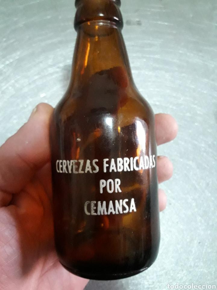 Coleccionismo de cervezas: Botella Antigua Cerveza Calatrava 20cl - Foto 2 - 110026142