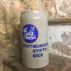 Coleccionismo de cervezas: JARRA DE CERVEZA DORTMUNDER STINTS BIER.. Lote 110144763