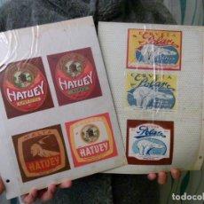 Coleccionismo de cervezas: TUBAL LA MAYOR COLECCION DE ETIQUETAS DE CERVEZA EN ANDALUCIA 35800 DE 4 CONTINENTES. Lote 110855563