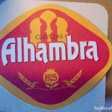 Coleccionismo de cervezas: POSAVASOS CERVEZA ALHAMBRA. Lote 111427859