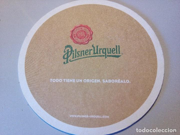850e48ec5cead8 POSAVASOS CERVEZA PILSNER URQUELL (Coleccionismo - Botellas y Bebidas -  Cerveza )
