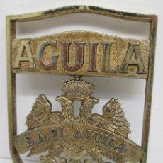 Coleccionismo de cervezas: ANTIGUO EMBLEMA S.A. EL AGUILA, CERVEZA. Lote 111638615