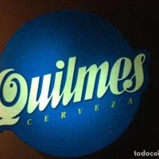 Coleccionismo de cervezas: CARTEL LUMINOSO AÑOS 80 PUBLICIDAD CERVEZA ARGENTINA QUILMES. Lote 111710247
