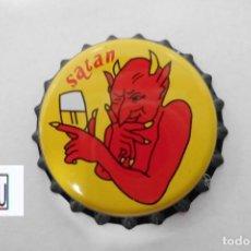 Coleccionismo de cervezas: TAPON CORONA CHAPA BEER BOTTLE CAP KRONKORKEN TAPPI CAPSULE SATAN - BELGICA. Lote 213465283