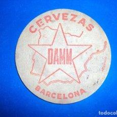 Coleccionismo de cervezas: (PUB-180220)POSAVASOS CERVEZAS DAMM. Lote 112120635
