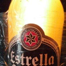 Coleccionismo de cervezas: BOTELLA ESTRELLA GALICIA. LUMINOSO.. Lote 112227243