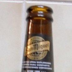 Coleccionismo de cervezas: BOTELLA CERVEZA VACÍA Y SIN CHAPA MANILA SAN MIGUEL CERVEZA ESPECIALMENTE LUPULADA. BOTELLA DE 33CL.. Lote 113116663