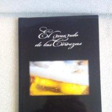 Coleccionismo de cervezas: LIBRO EL MUNDO DE LAS CERVEZAS HISTORIA ORIGEN TIPOS DATOS FOTOS CATA CERVEZA HEINEKEN 2008. Lote 113565803