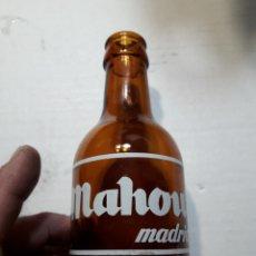 Coleccionismo de cervezas: BOTELLA ANTIGUA CERVEZA MAHOU 20CL. Lote 273948723