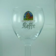 Coleccionismo de cervezas: COPA CERVEZA LEFFE. Lote 113949455