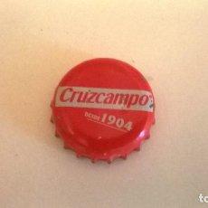 Coleccionismo de cervezas: CHAPA TIPO CORONA, CRUZCAMPO 1904. Lote 114020235