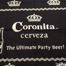 Coleccionismo de cervezas: HERMOSO PAREO DE PLAYA CERVEZA CORONITA.. Lote 114278091