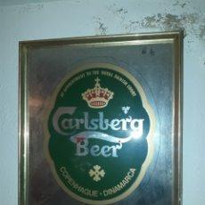Coleccionismo de cervezas: CUADRO CERVEZA CARLSBERG DINAMARCA. Lote 114445952