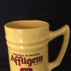 Coleccionismo de cervezas: JARRA DE CERVEZA AFFLIGEM ESPECIAL COLECCIONISTAS. Lote 115810327