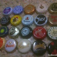 Coleccionismo de cervezas: COLECCION CHAPA TAPON CORONA CERVEZA. Lote 115900099
