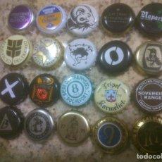 Coleccionismo de cervezas: COLECCION CHAPA TAPON CORONA CERVEZA. Lote 115900455