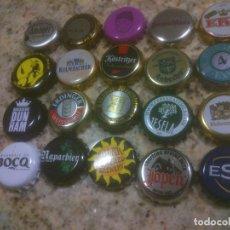 Coleccionismo de cervezas: COLECCION CHAPA TAPON CORONA CERVEZA. Lote 115901019