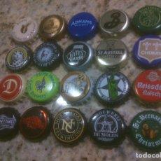 Coleccionismo de cervezas: COLECCION CHAPA TAPON CORONA CERVEZA. Lote 115901655