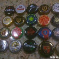 Coleccionismo de cervezas: COLECCION CHAPA TAPON CORONA CERVEZA. Lote 115901959