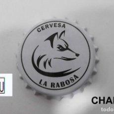 Coleccionismo de cervezas: TAPON CORONA CHAPA BEER BOTTLE CAP KRONKORKEN TAPPI CAPSULE CERVEZA LA RABOSA. Lote 213464838
