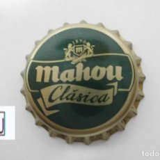 Coleccionismo de cervezas: TAPON CORONA CHAPA BEER BOTTLE CAP KRONKORKEN TAPPI CAPSULE CERVEZA MAHOU CLASICA. Lote 226994545