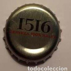 Coleccionismo de cervezas: TAPÓN CORONA CERVEZA SAN MIGUEL 1516. Lote 116503511