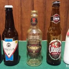 Coleccionismo de cervezas: LOTE DE CERVEZAS. Lote 116873587