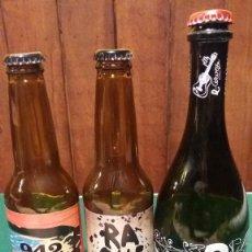 Coleccionismo de cervezas: LOTE DE BOTELLAS. Lote 116873799