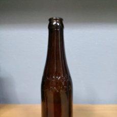 Coleccionismo de cervezas: BOTELLA CERVEZA TERCIO ALHAMBRA EN RELIEVE. Lote 117170202
