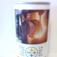 Coleccionismo de cervezas: LATA CERVEZA STEEL PREMIUM BEER USA. Lote 118360875