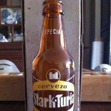 Coleccionismo de cervezas: ANTIGUA BOTELLA CERVEZA STARK TURIA ESPECIAL.. Lote 118704959
