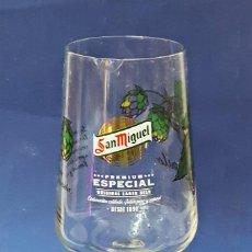 Coleccionismo de cervezas: COPA DE CERVEZA DE SAN MIGUEL.. Lote 118840279