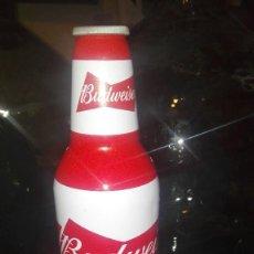 Coleccionismo de cervezas: BOTELLA ALUMINIO BUDWEISER. Lote 118882703
