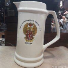 Coleccionismo de cervezas: GRAN JARRA CERVEZA MILTAR CIR 5 CÓRDOBA. Lote 119215562