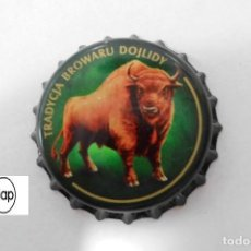 Coleccionismo de cervezas: TAPON CORONA CHAPA BEER BOTTLE CAP KRONKORKEN TAPPI CAPSULE ZUBR - POLONIA. Lote 213465013