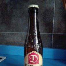 Coleccionismo de cervezas: BOTELLA CERVEZA VACIA 33CL - LA TRAPPE DUBBEL - CAD 2009 - SERIGRAFIADA - CON CHAPA. Lote 122013027